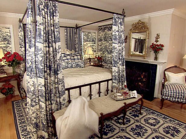 Bedroom Decorating Ideas Totally Toile: 1000+ Images About French Country Decor On Pinterest