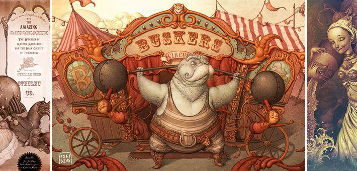 Οι φανταστικός κόσμος του Felideus Bubastis – Σουρεαλισμός και φαντασία
