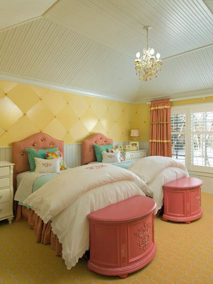Cute room idea for twin girls Oh my Twins