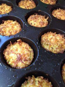 Cheddar Cauliflower Muffins