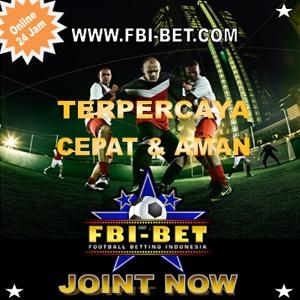 BanerFbi-bet.com Taruhan Bola Casino Sbobet Online Bonus 100% All Produk