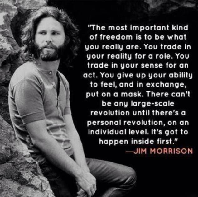 JIM MORRISON: AN AWAKENED MAN Jim Morrison (December 8, 1943 – July 3, 1971) was an American singer-songwriter and poet, best remembered as the lead singer of Los Angeles rock band 'The Doors'. From a young age, Morrison became infatuated with the works of Friedrich Nietzsche, Arthur Rimbaud and Jack Kerouac, emphasising his intellect and ability to incorporate their work into his lyrics, making him one of the most artistic and influential singer-songwriters... *for full description click…