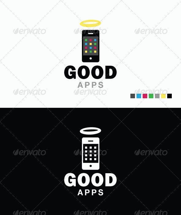 57 best logo templates images on pinterest logo for Iphone app logo template