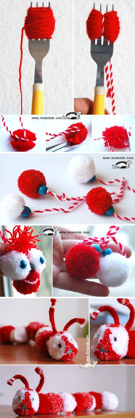 Pompon de laine