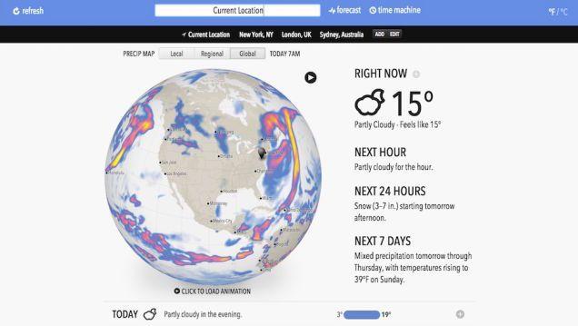 Five Best Weather Web Sites