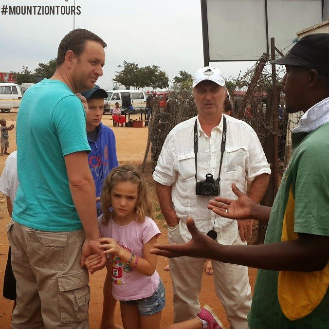 Mount Zion Tours and Travels: TOURING THE TOWNSHIP WITH EXPERT GUIDE