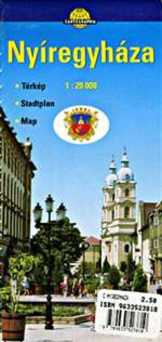 Nyiregyhaza, Hungary by Cartographia