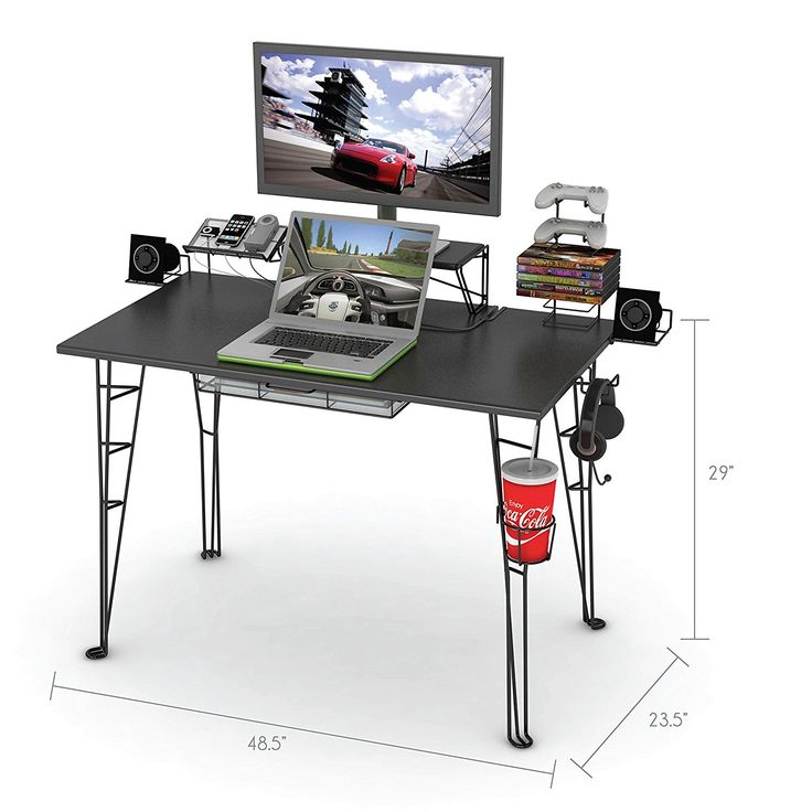99+ atlantic Gaming Desk Black - Office Furniture for Home Check more at http://www.sewcraftyjenn.com/atlantic-gaming-desk-black/