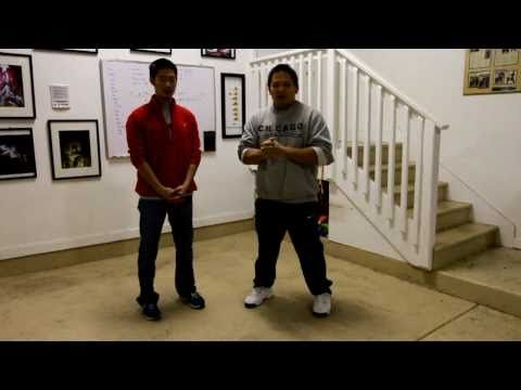 Learn Wing Chun:  S1 EP1 - CREATE A SOLID STANCE