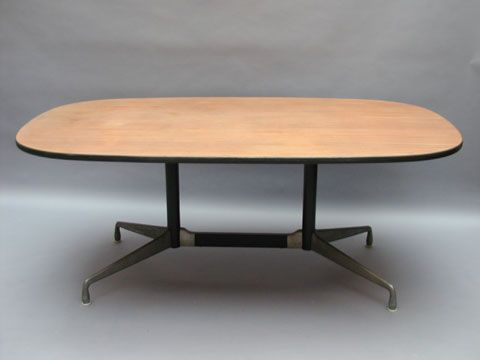 """Aluminium Group"" The Segmented table by Charles Eames for Herman Miller 1958 First edition in teak wood Price: SOLD"
