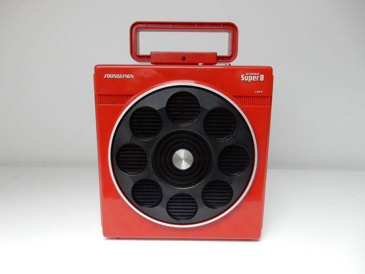 Sounddesign 8 track, digital music player for sale. Retro Audiophile Designs.