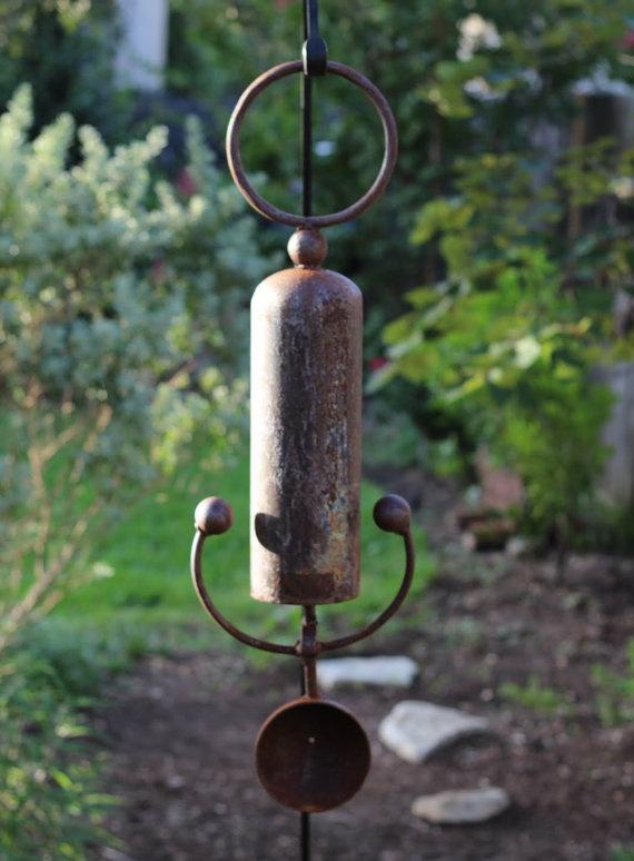 rustic wind chime