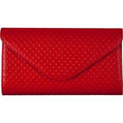 kopertówka pikowana F04 Czerwona