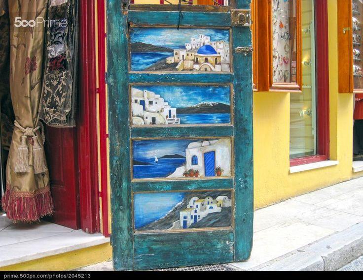 Plaka - Athens Greece - stock photo
