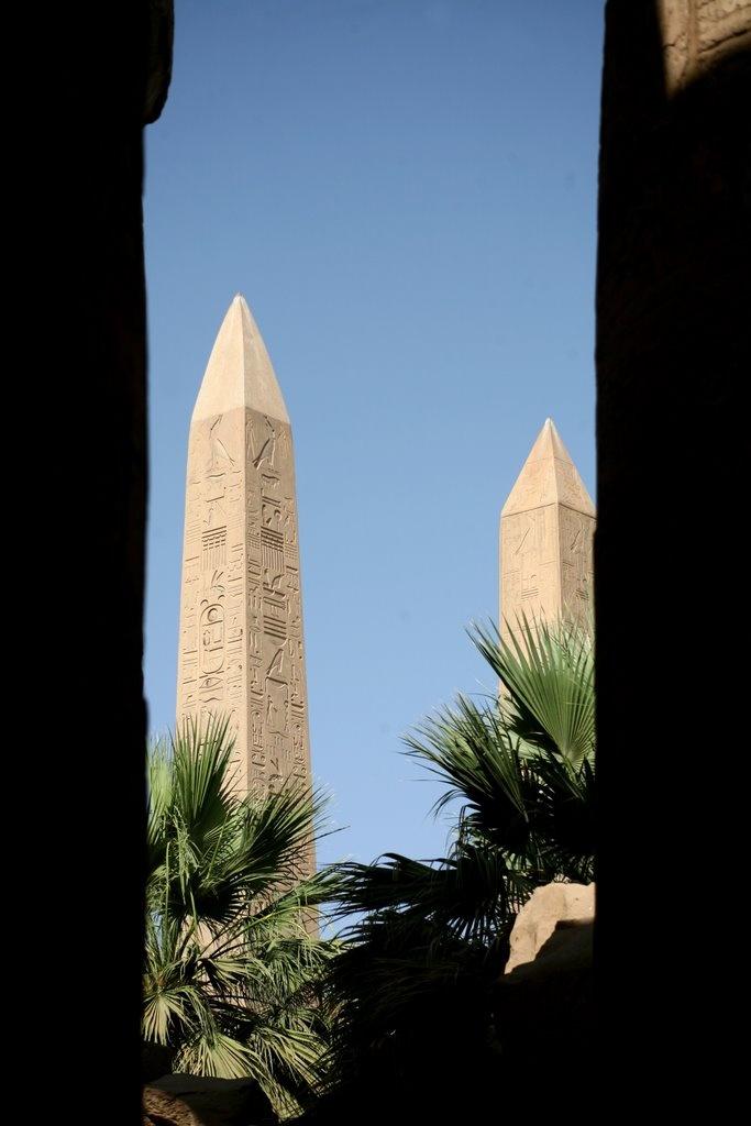Amun Re Photographic Arts: Thutmose III & Hatshepsut's Obelisks, Precinct Of Amun-Re