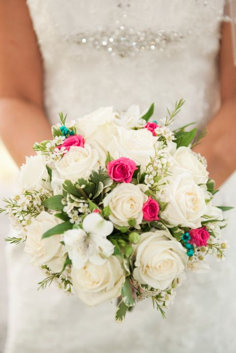 We're loving the detail of the dress and the up front and personal amazing bouquet! 3Eight Photography really knows how to capture the all the wonderful details of your wedding! Click the image and contact them about availability! Photo credit: 3Eight Photography
