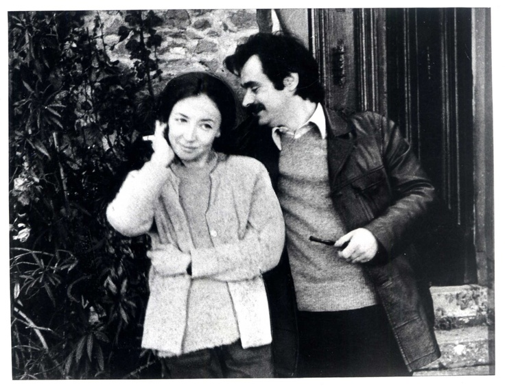 Oriana Fallaci e Alekos Panagoulis
