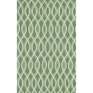 @Overstock.com - Handmade Indoor/ Outdoor Capri Turquoise Rug (9'3 x 13) - The Capri rug will brighten up your home inside or out with a series of appealing, modern, hand-hooked designs from China. Made of 100-percent polypropylene, the rugs are UV and mildew-resistant.  http://www.overstock.com/Home-Garden/Handmade-Indoor-Outdoor-Capri-Turquoise-Rug-93-x-13/7751776/product.html?CID=214117 $682.54