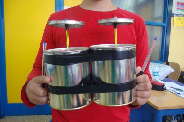 instrumentos musicales con material reciclado - Buscar con Google
