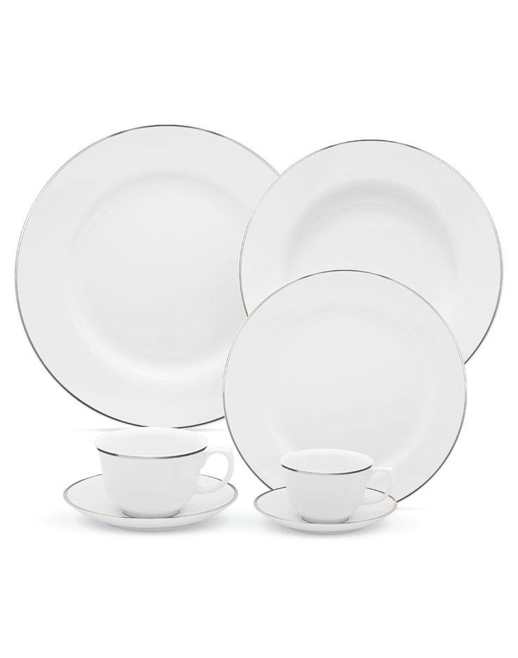 Aparelho de Jantar-Oxford Porcelana-Flamingo Isabel - 42