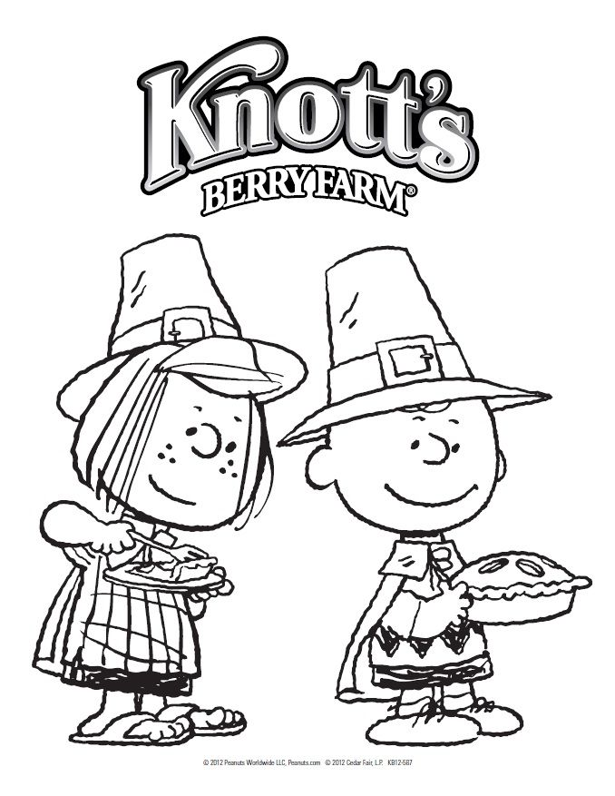 peanuts thanksgiving coloring pages printable - photo#16