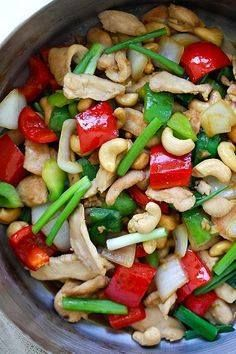 Thai Cashew Chicken Thai Cashew Chicken - best Thai chicken...  Thai Cashew Chicken Thai Cashew Chicken - best Thai chicken stir-fry with cashew nuts and bell peppers. So easy to make takes 20 mins and much better than restaurants | rasamalaysia.com Recipe : http://ift.tt/1hGiZgA And @ItsNutella  http://ift.tt/2v8iUYW