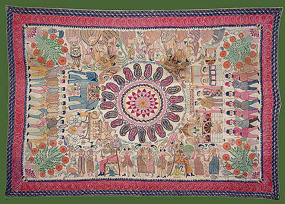Arts And Crafts Of West Asia Embroidery