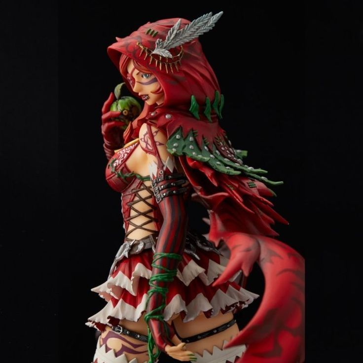 Hdge technical statue No.11 Soul Sacrifice Delta Red Hood Figure Japan 1204
