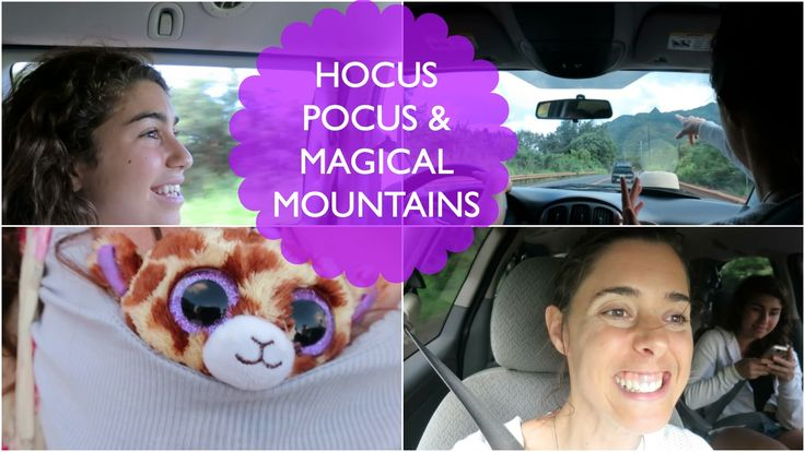 HOCUS POCUS & MAGICAL MOUNTAINS