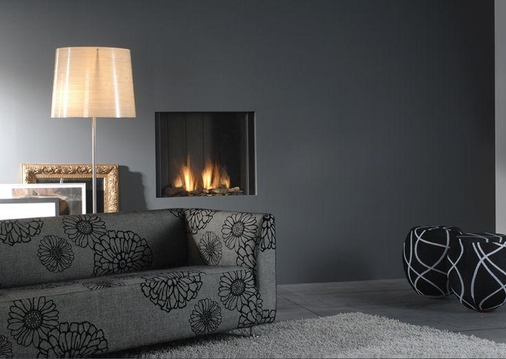 Sistemas de calor para el hogar de Jorge Fernández #Chimenea de gas sin marco #decoración #diseñointeriorimg
