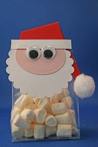 Santa claus With tutorial Party favor christmas Les tav kerstman