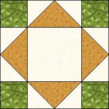 Block of Day for February 10, 2017 - Mosaic-strip-piecing-The pattern may be downloaded until: Tuesday, February 28, 2017.