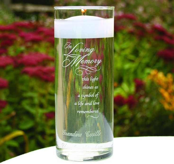 Memorial Candle Holders | Memorial Candles