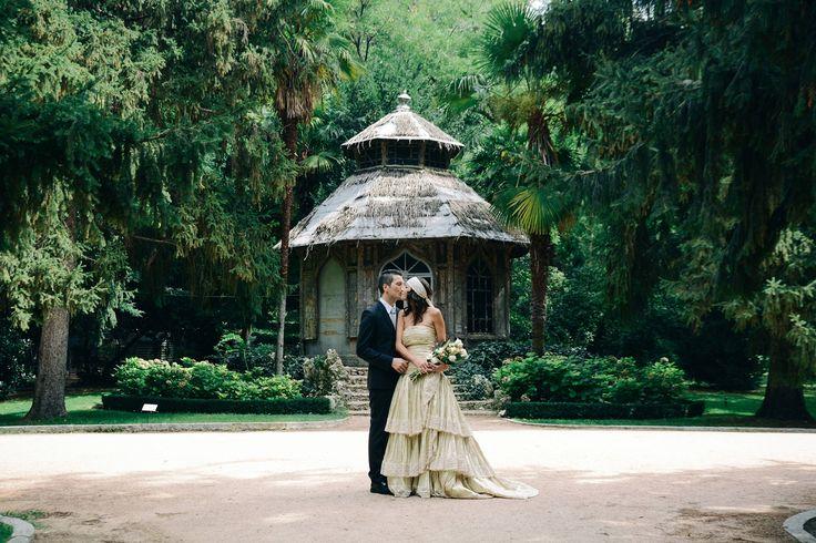 Madrid Spain wedding Casa de Campo historical garden   nerearobles.com