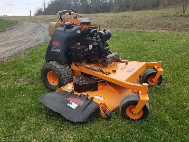 """2013 Scag V-Ride 61"""" Stand On Commercial Hydro Zero Turn Lawn Mower Kohler 23hp #Scag"""