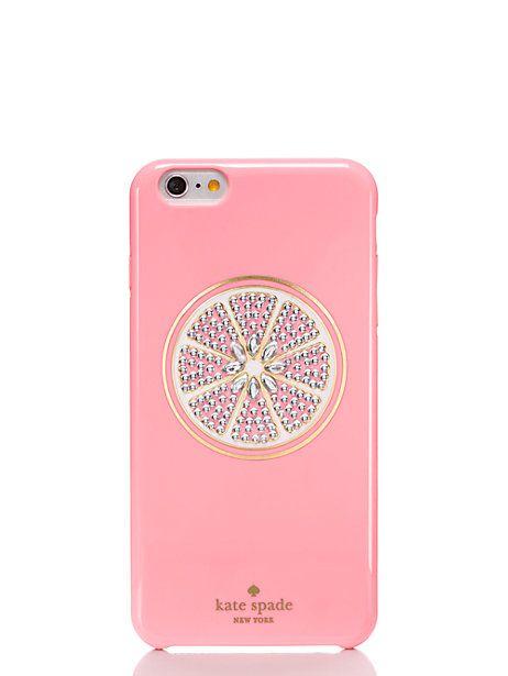 jeweled grapefruit iphone 6 plus case - Kate Spade New York