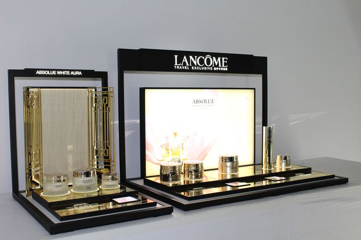 POPAI Awards Paris 2016 - TREX BARS ABSOLU LANCOME- LANCOME #MPV2016