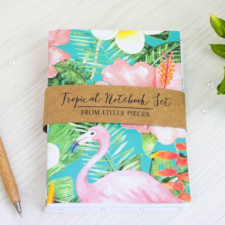 Tropical Notebook Set – Little Pieces