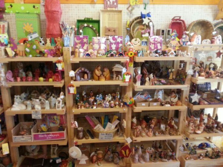 #Natale 2014 - Sono arrivati i nuovi #Presepi al mercato di S. Scolastica a #Bari.