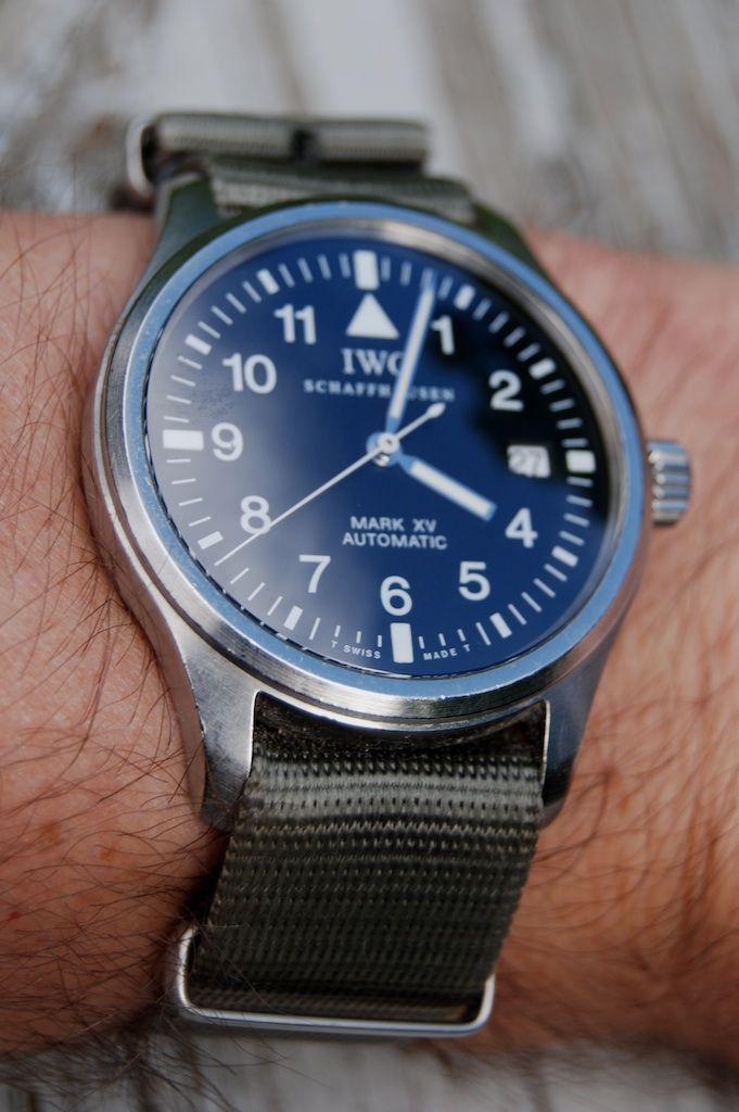 IWC Mark XV - Blue Dial