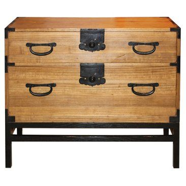 Check out this item at One Kings Lane! 19th-C. Japanese Chest on Stand