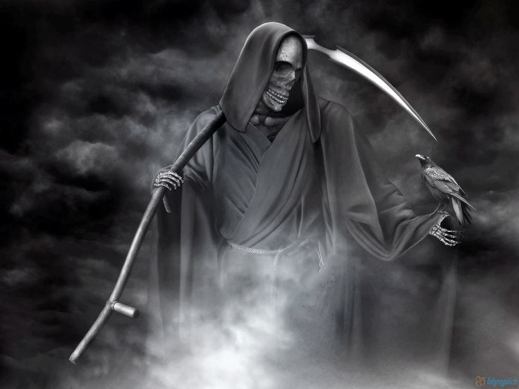 Pin by blackcat41 on Fade To Black Grim reaper images