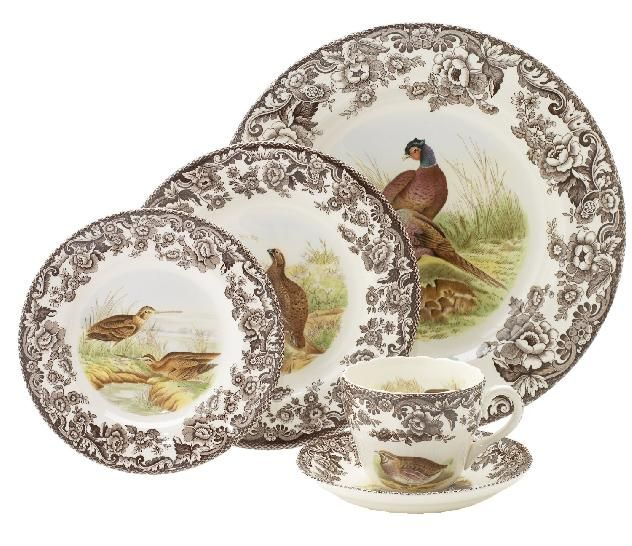 The Best of Thanksgiving Table Dinnerware / The English Room Blog