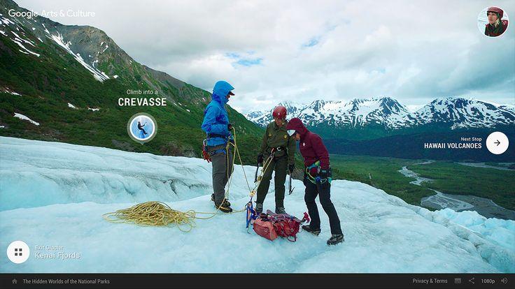 Google presents: The Hidden Worlds of the National Parks | Incredible National Park Adventures Tour Website | Award-winning Websites | D&AD