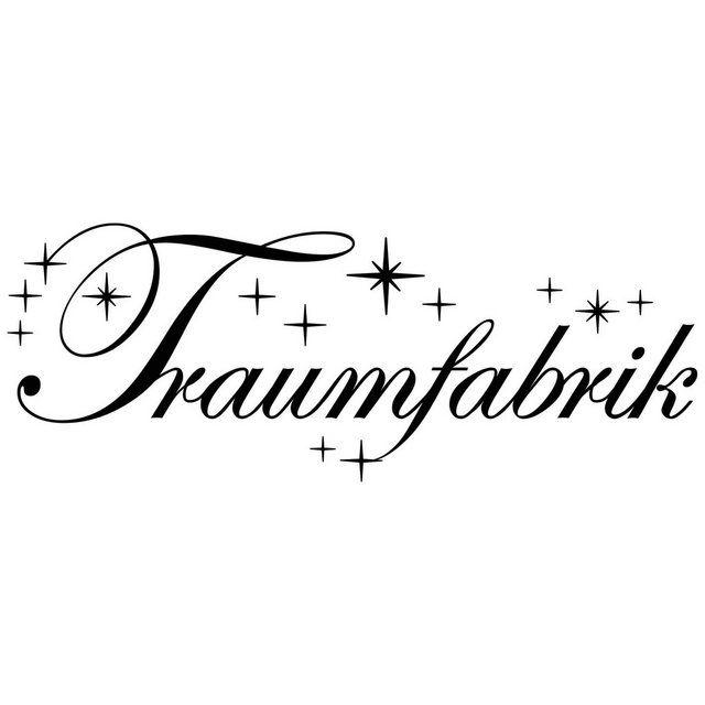 Wandtattoo »Traumfabrik mit Sternen«