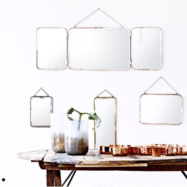 Olsson og Jensen har utrolig fine speil. Praktiske og samtidig et smykke på veggen. #innkjøp #interior #interiør #olssonogjensen #speil#mirror #instahome #home#hjem#vakrehjemoginteriør #skandinaviskehjem #nordic #north #nordisk #design