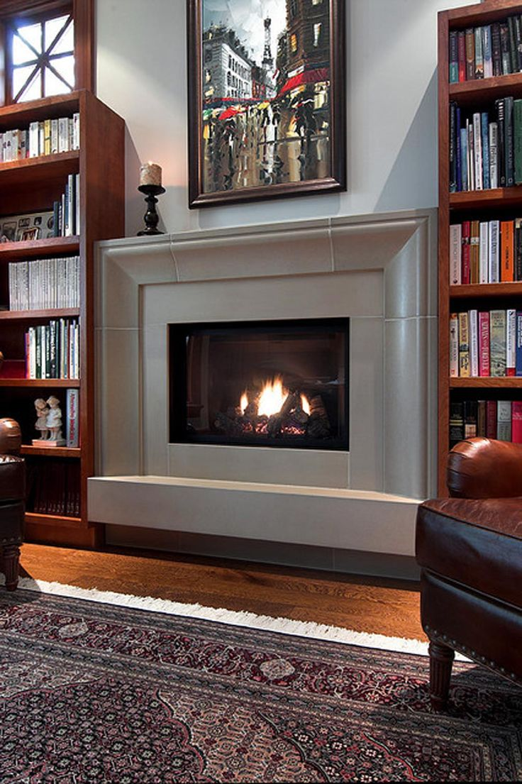 Best 25 contemporary fireplace mantels ideas on pinterest - Mantel kits for fireplace ...