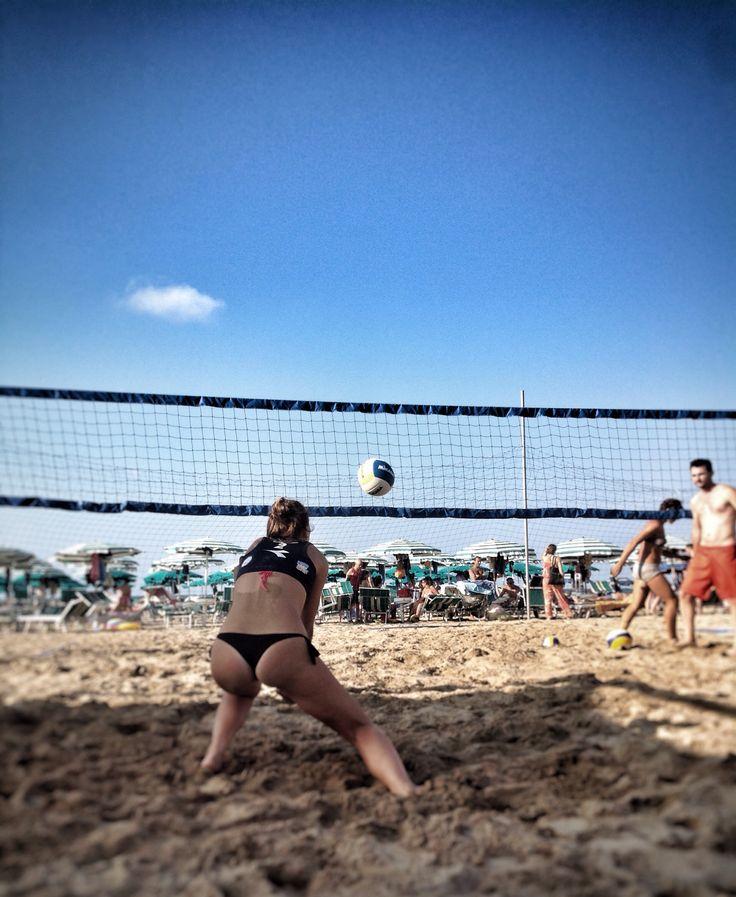 B-side #beachvolley #termoli #spiaggiapanfilo