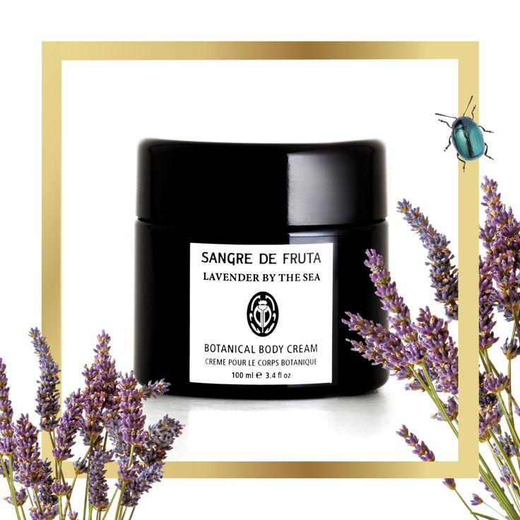 Lavender By the Sea - Signature Botanical Body Cream www.sangredefruta.com