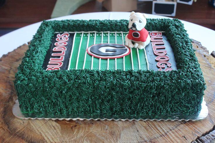 Georgia Bulldogs cake! More